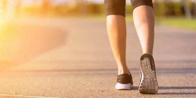 Quanto camminare per dimagrire 1 kg