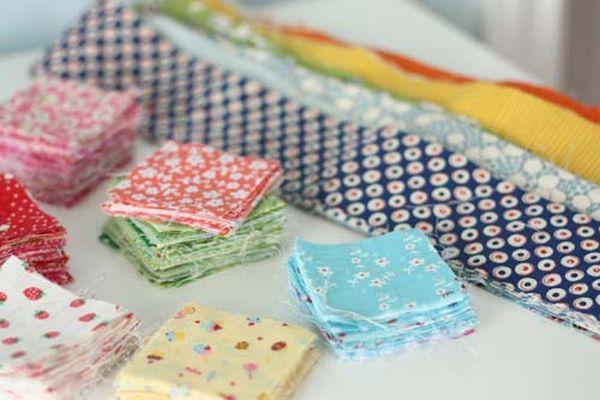 Cose creative da fare con scampoli di tessuto